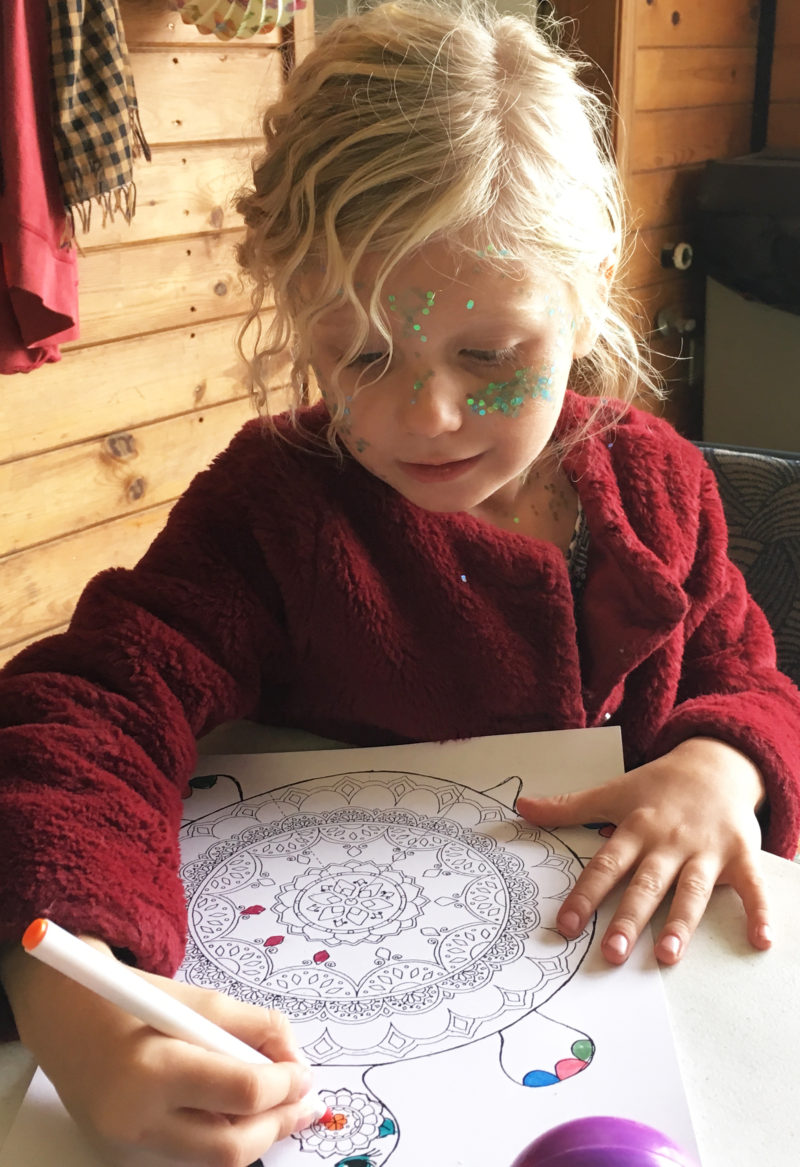Young Artist at Creation Station